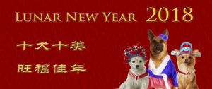 2018 Lunar New Year Celebration – Year of the Dog